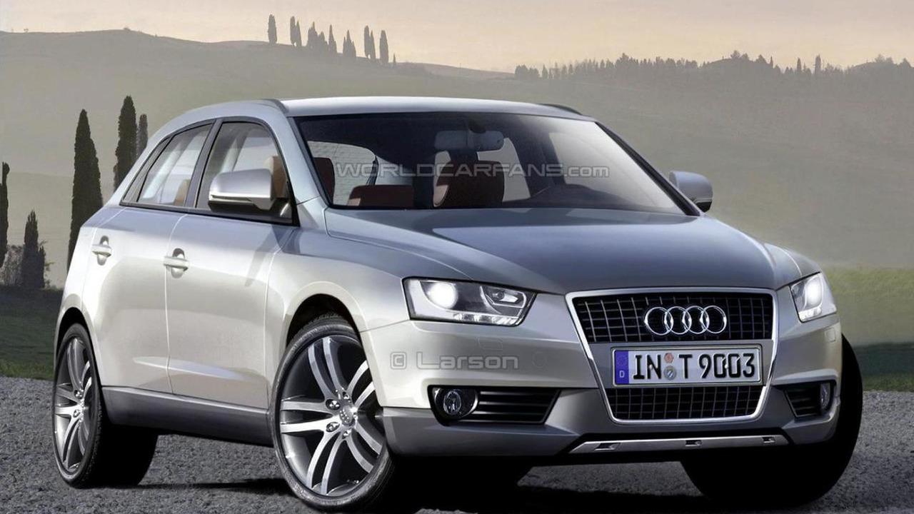 Audi Q4 artist rendering, 1389, 07.12.2007