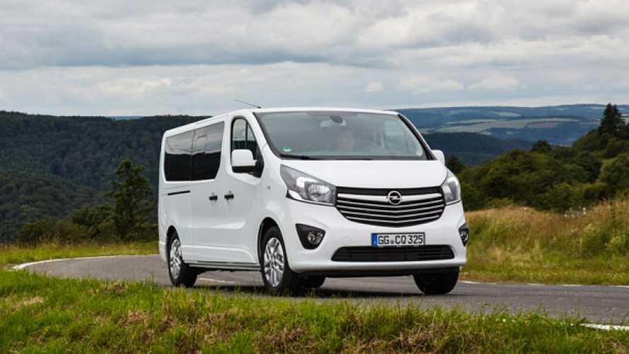 Opel Vivaro Combi, prime impressioni