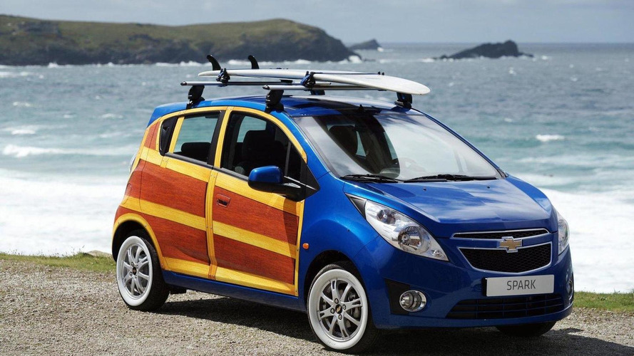 Chevrolet unveils Spark Woody Wagon art car