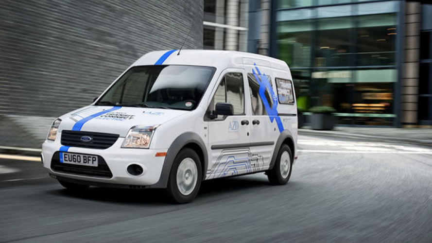Ford, Transit Connect Electric