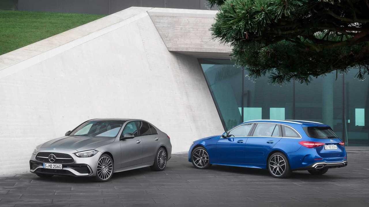 Новый Mercedes-Benz C-класса полностью рассекречен