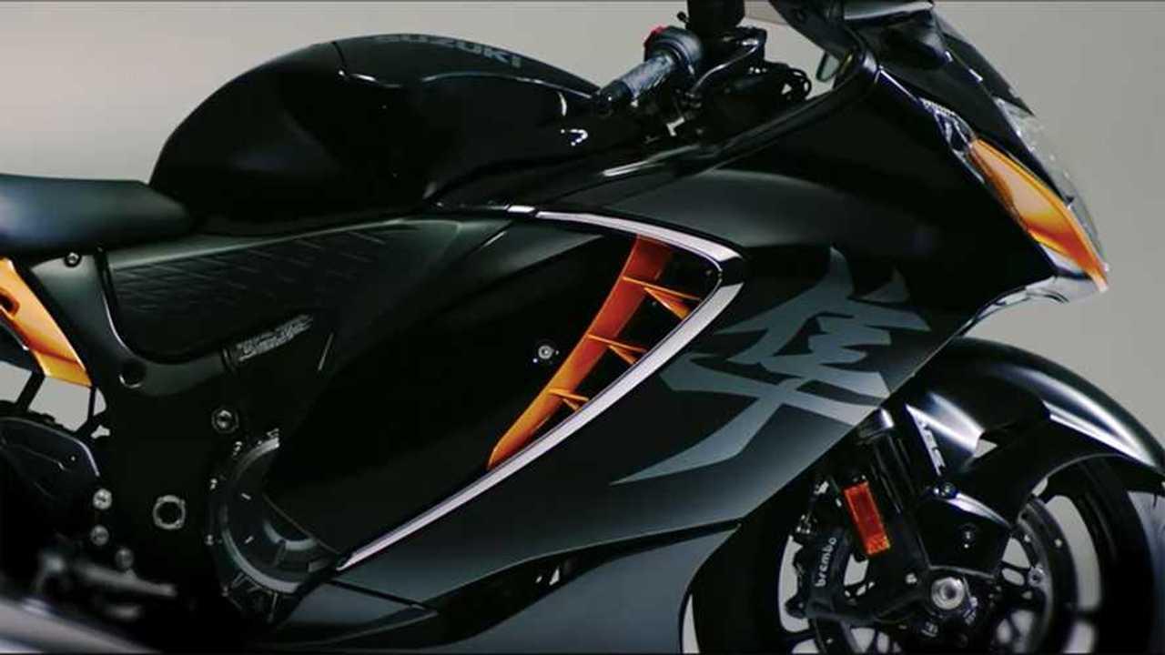 2021 Suzuki Hayabusa Video Capture