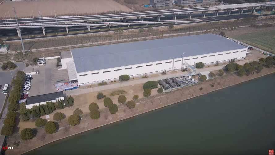 See Tesla's New Shanghai Supercharger Plant