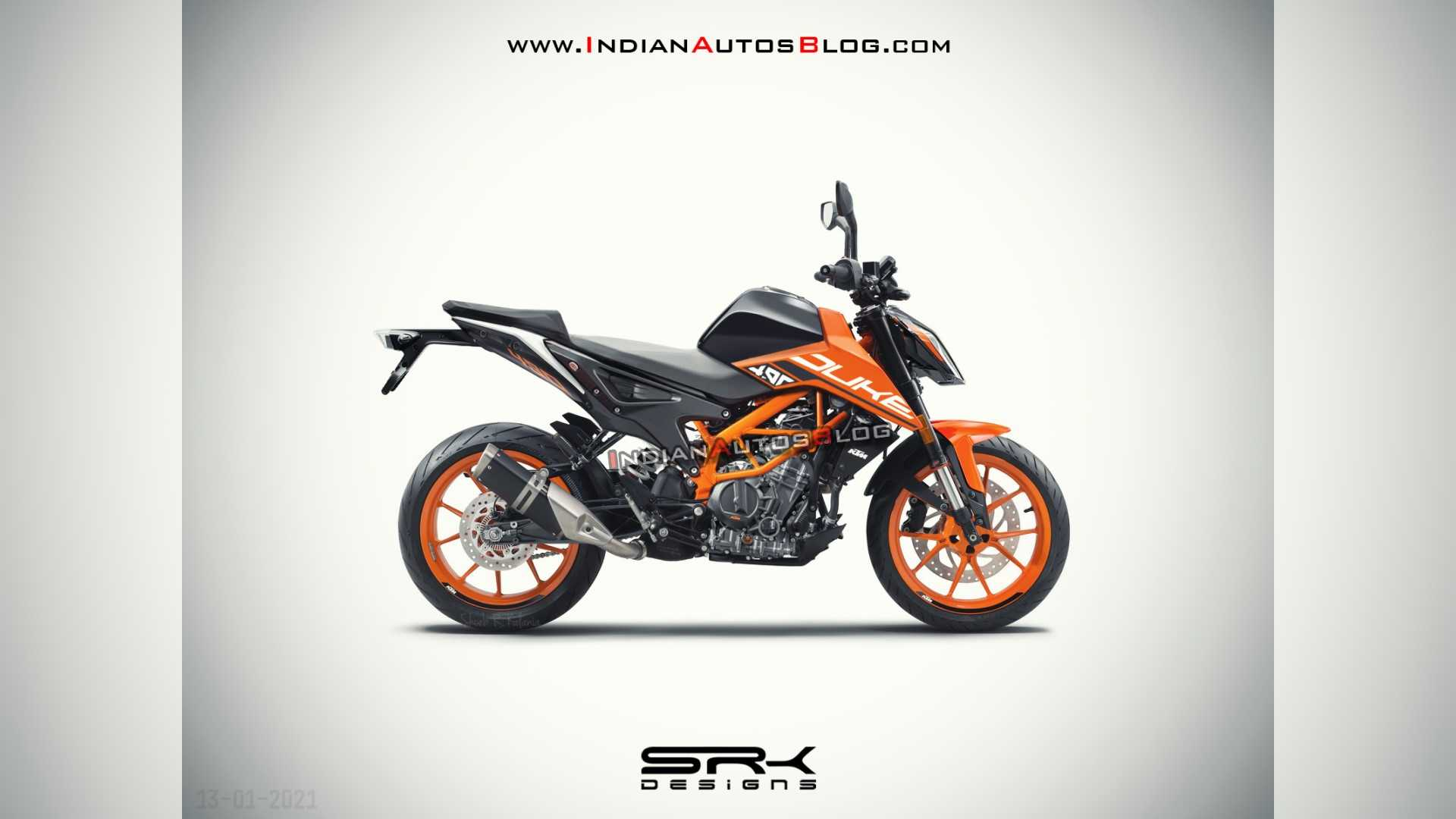 Designer Imagines The Future KTM 490 Adventure And Duke