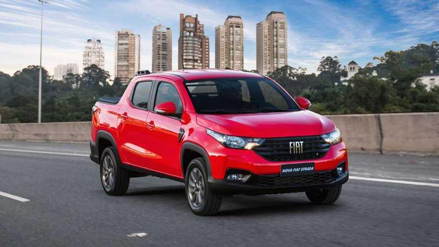 Strada, Toro e Mobi garantem pódio 100% Fiat nas vendas de abril