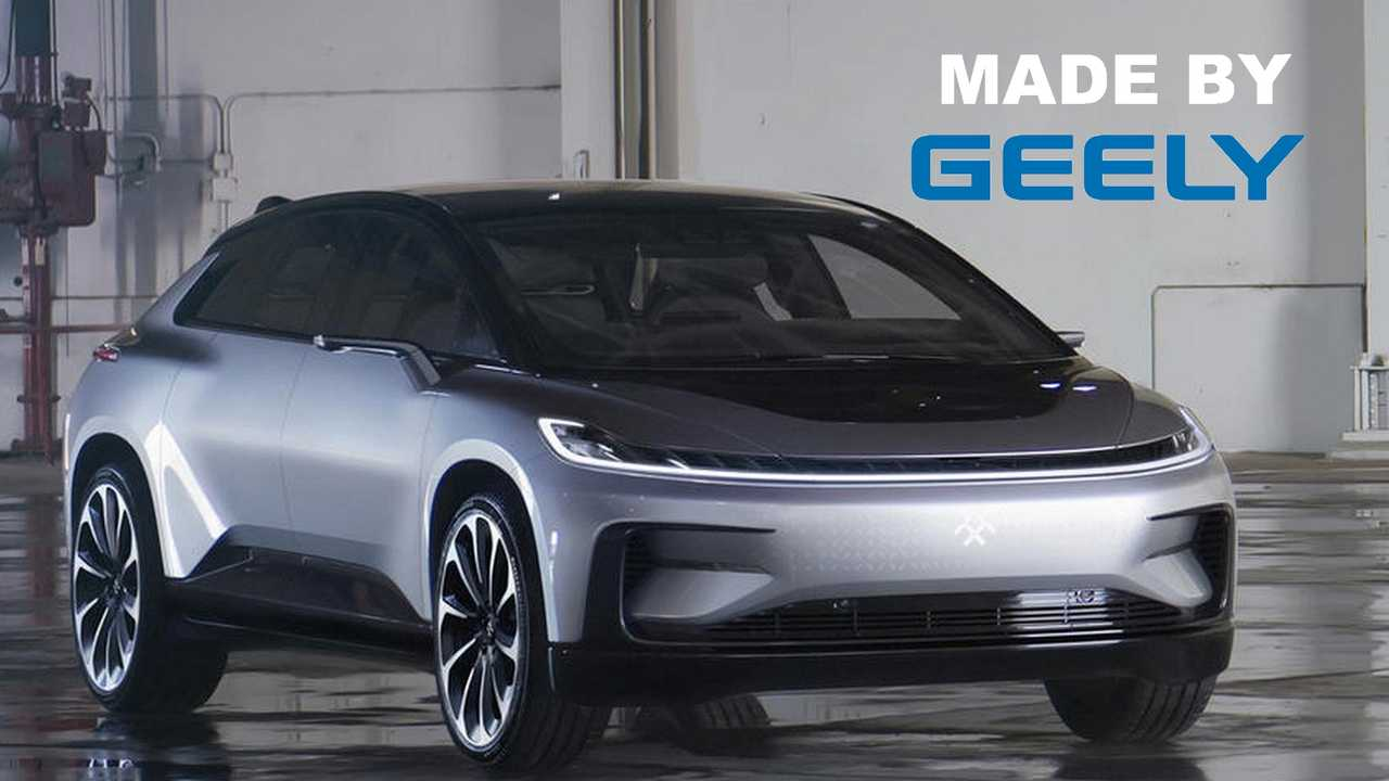 With Geely's Production Help, Faraday Future Will Going Public Via SPAC