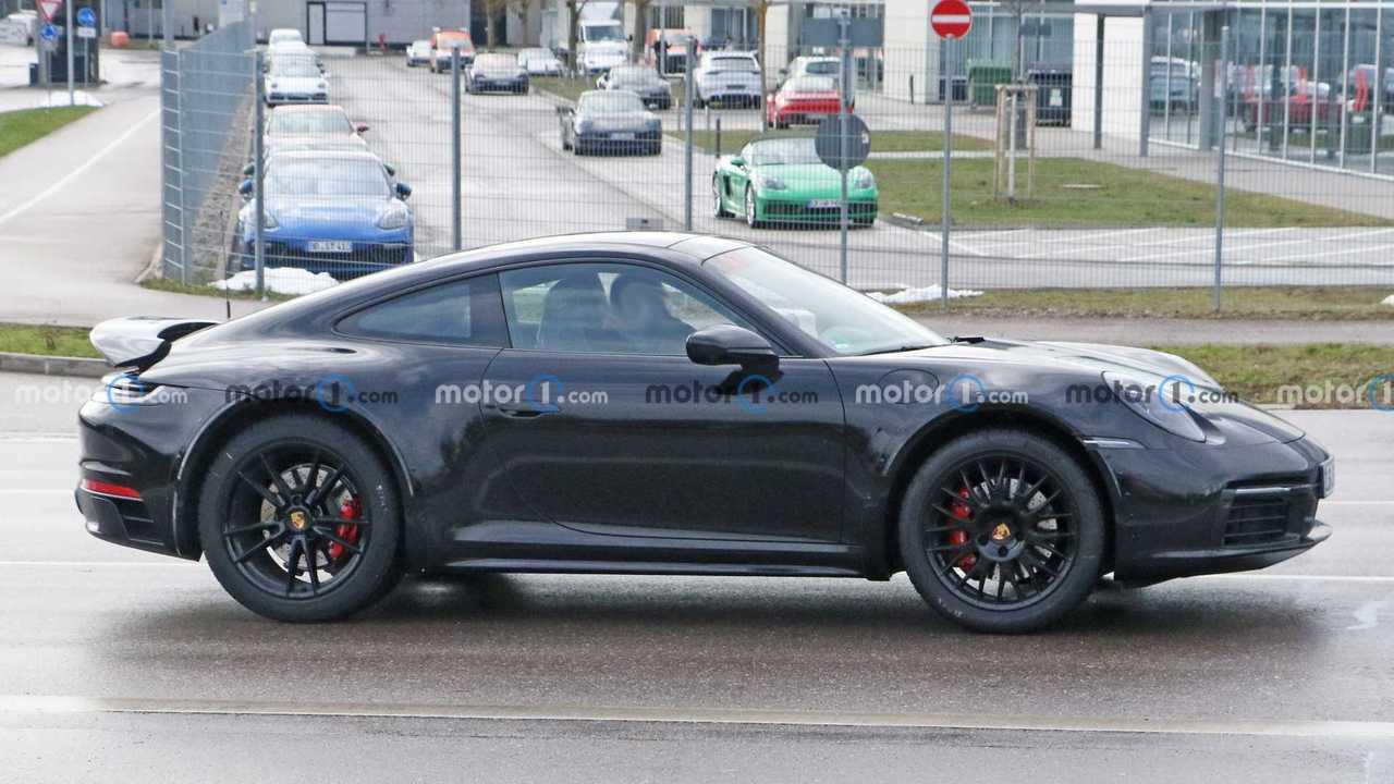 2022 Porsche 911 Safari-Spion Foto
