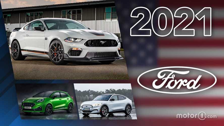 Novità Ford, ecco tutti i modelli in arrivo nel 2021