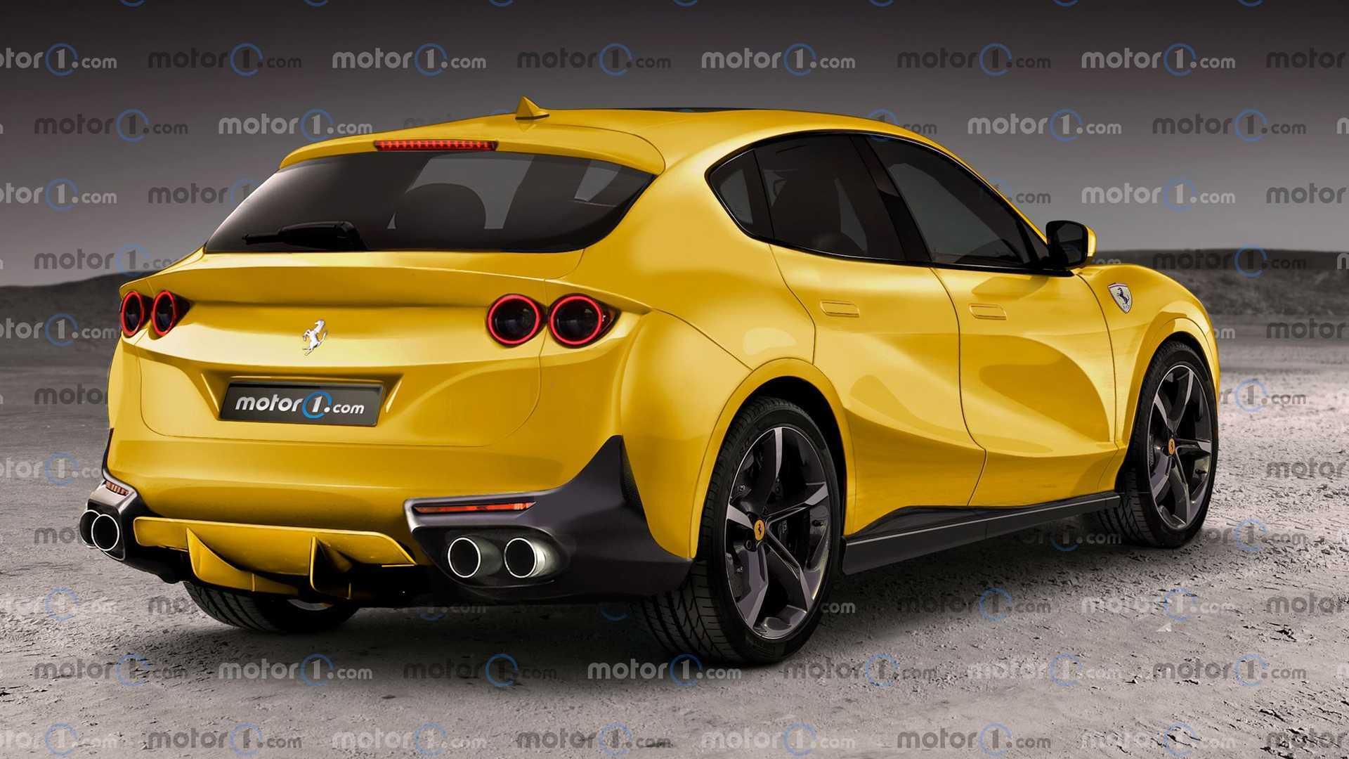 Ferrari Purosangue: вот как это может выглядеть