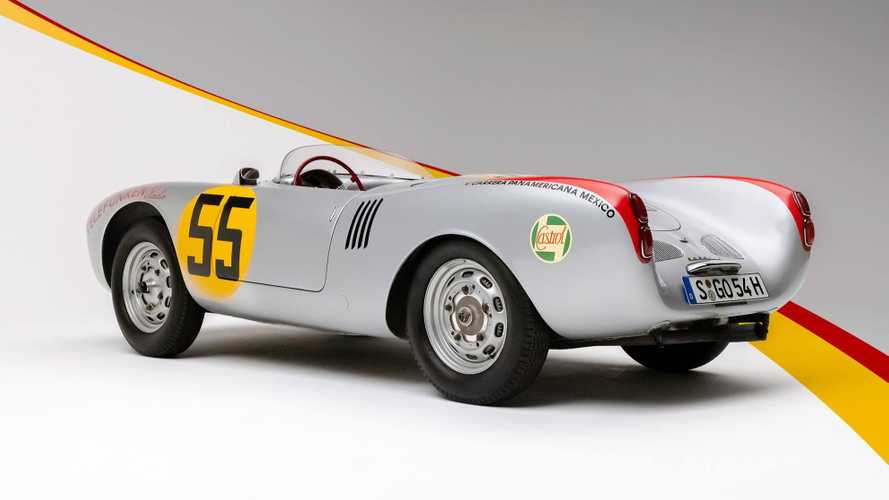 Porsche looks back at the 550 Spyder to show five highlights