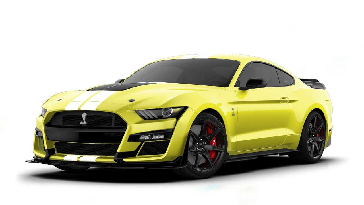 Ford Mustang Shelby GT500 2021
