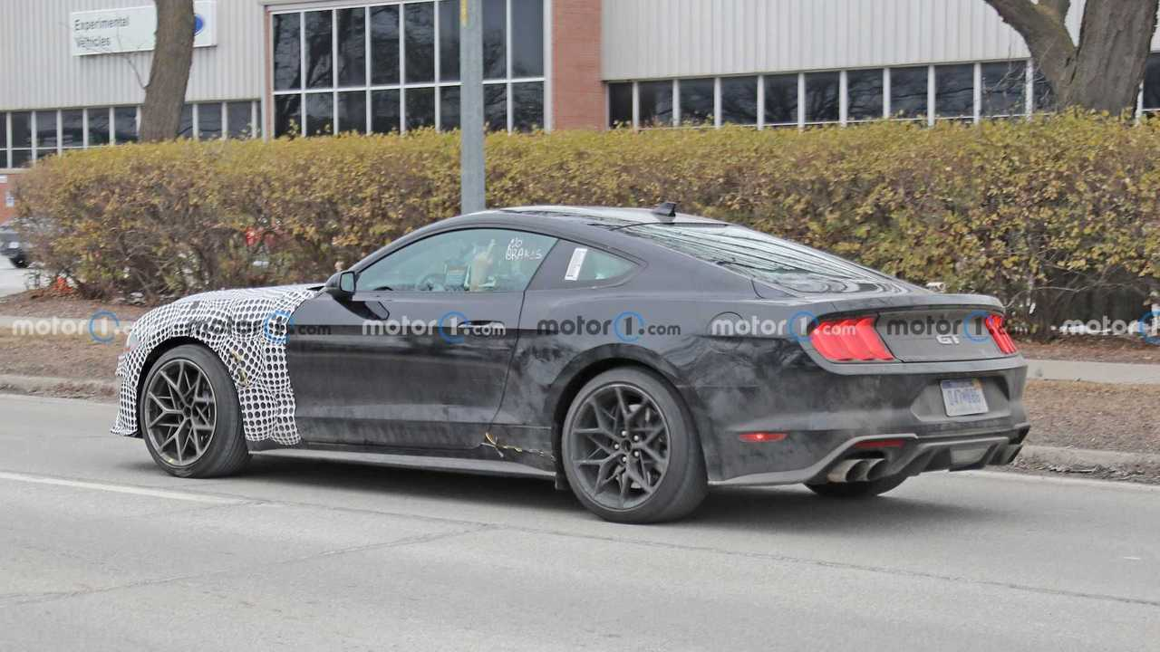 Ford Mustang Test Mule