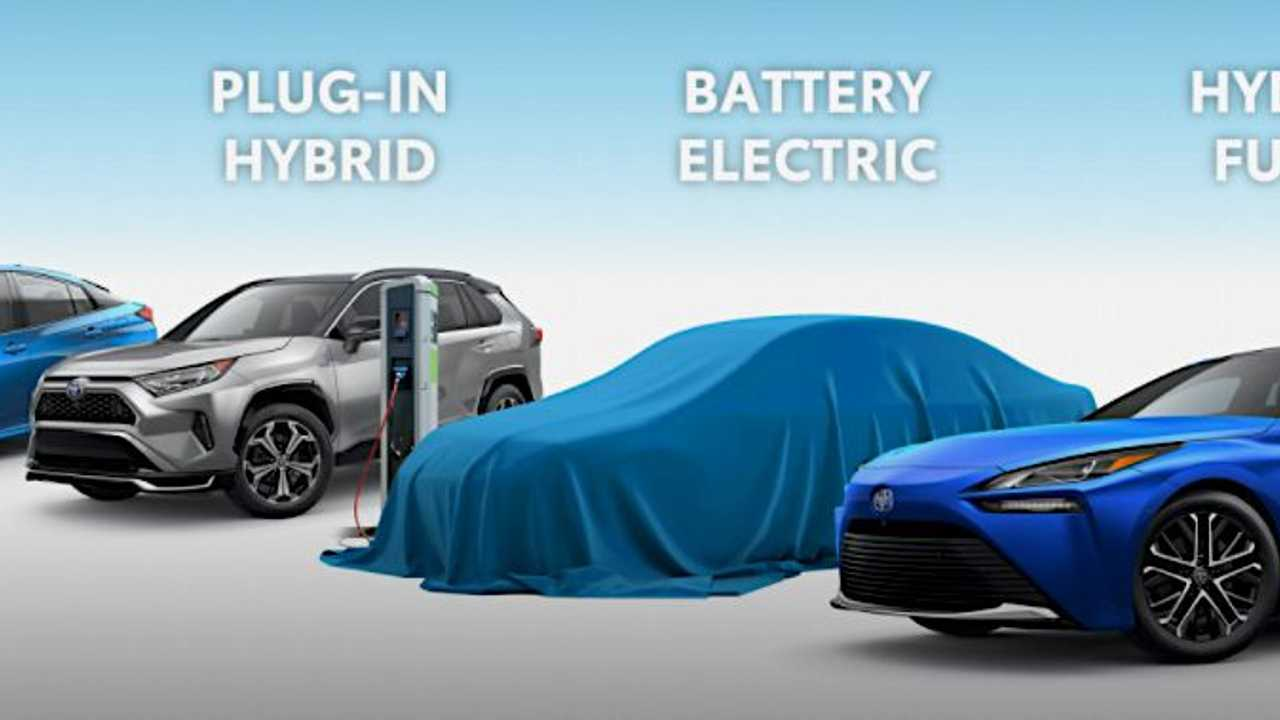 Toyota US electrified vehicles Feb 2021 BEV sedan