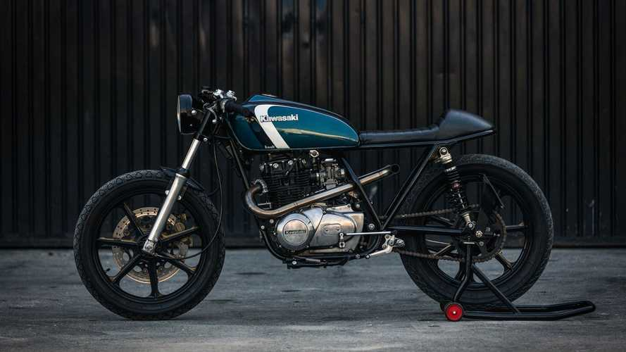 Kawasaki KZ400 Café Racer Is Perfect Balance Of Form And Function