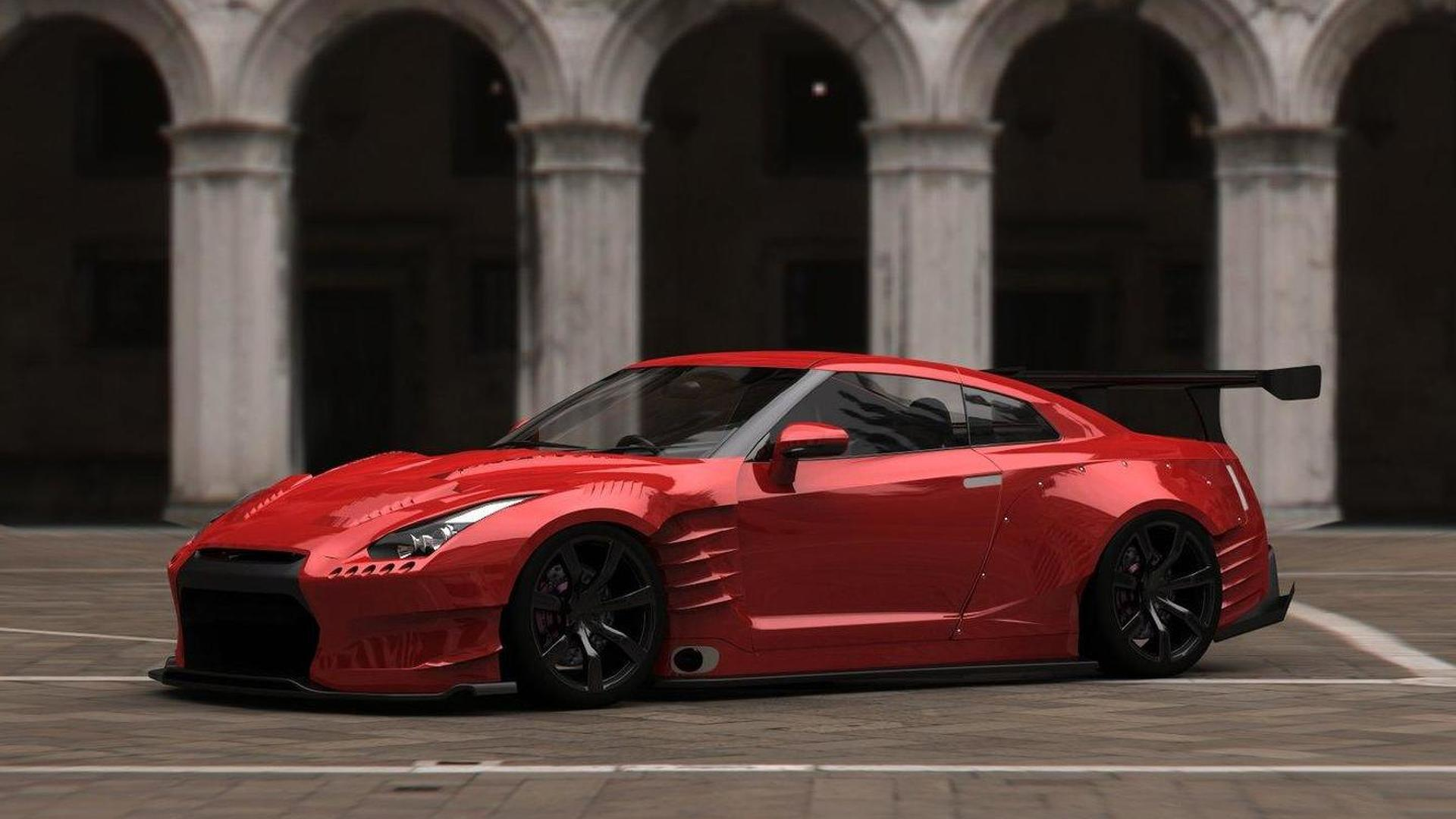 nissan gt-r with 1000 hpjapanese tuner bensopra