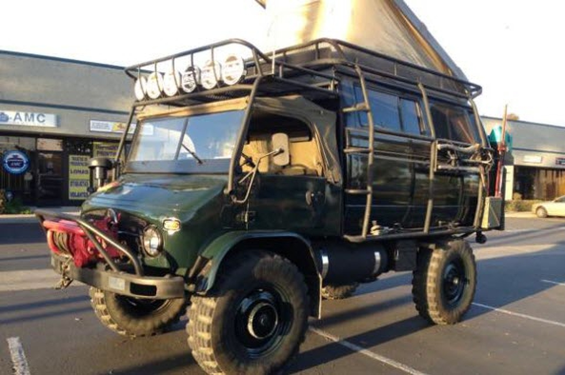 Unimog For Sale >> Classified Of The Week 1965 Unimog 4x4 For Sale