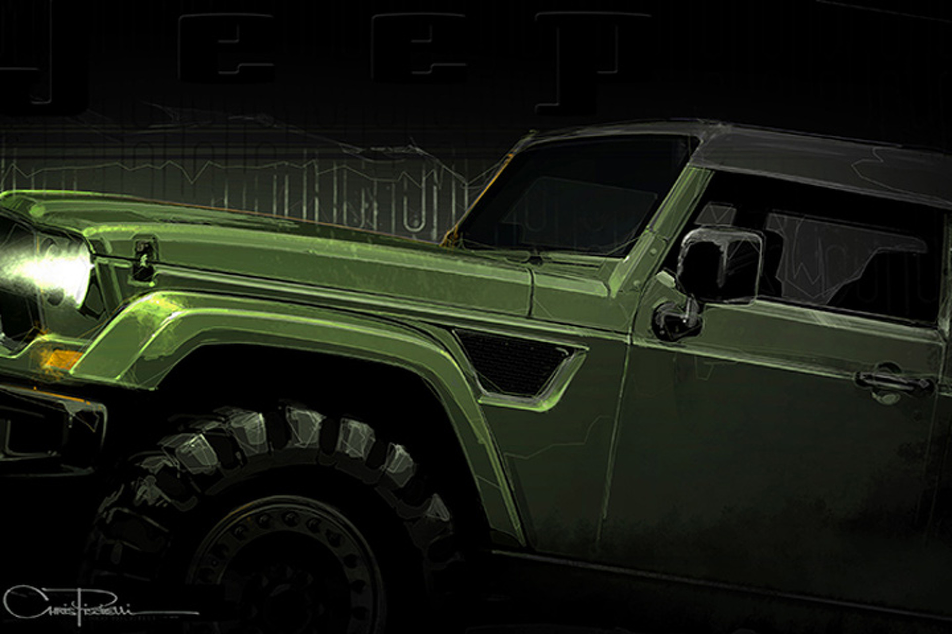 "Could The Jeep ""Trailcat"" Concept Finally Be a Hellcat Wrangler?"