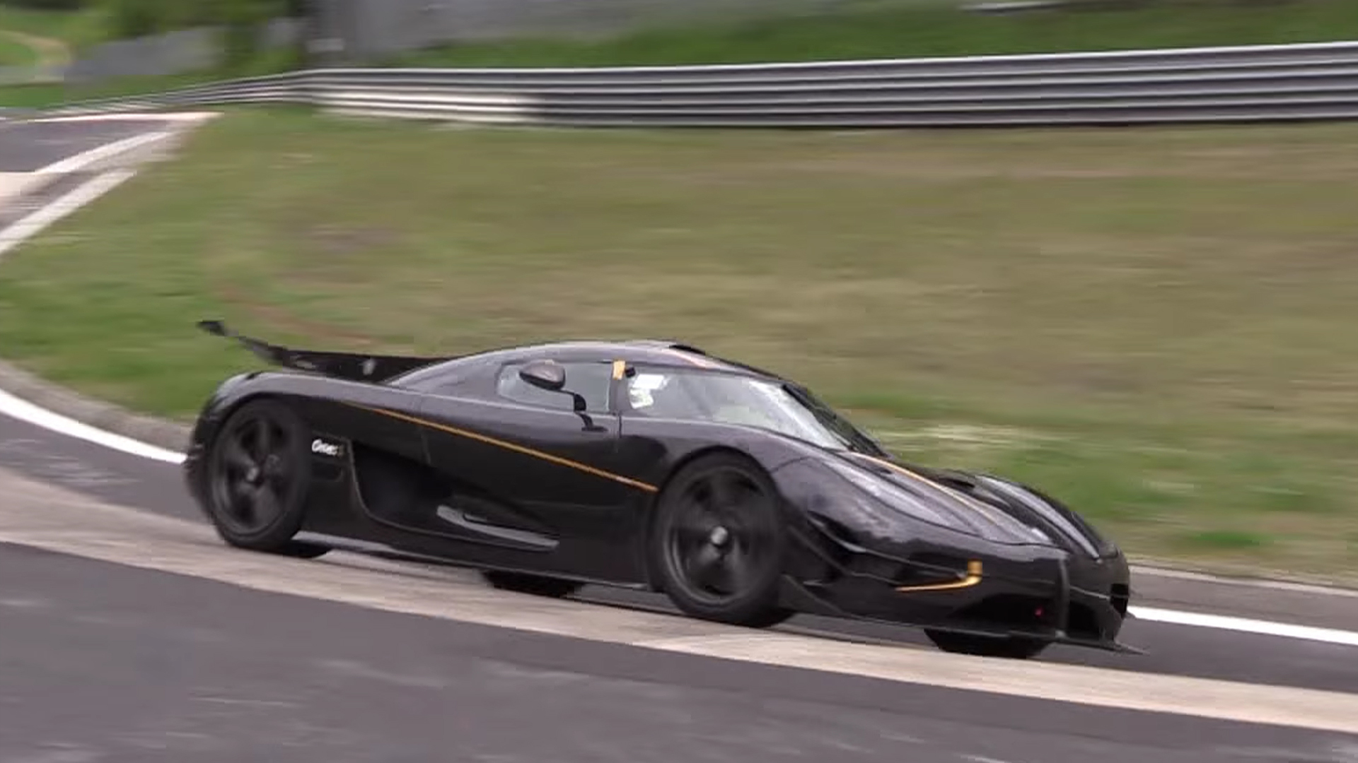 Koenigsegg One1 Spied Lapping Nrburgring Record In New Video