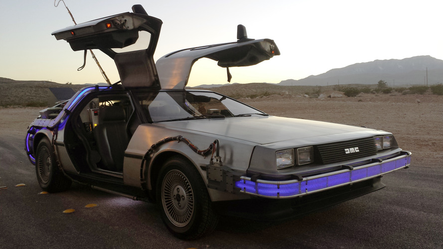 Authentic Back to the Future DeLorean hits eBay, Flux Capacitor included
