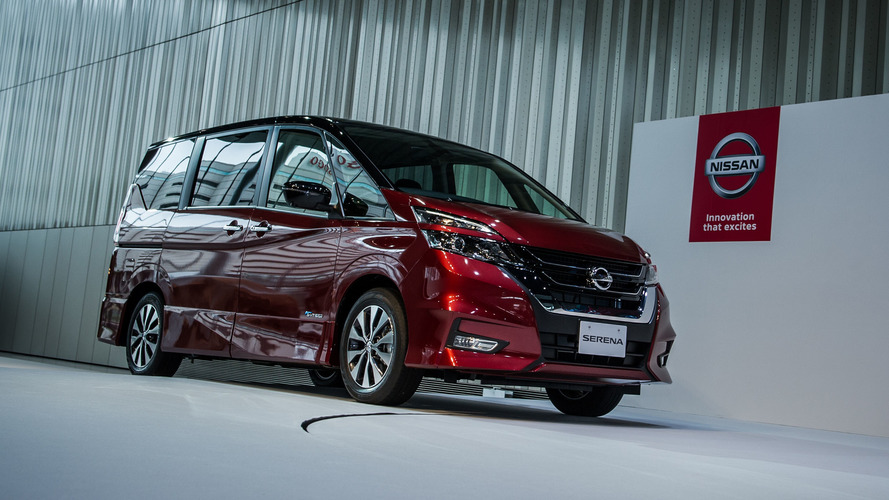 Nissan Serena minivan introduces its autonomous tech to Japan