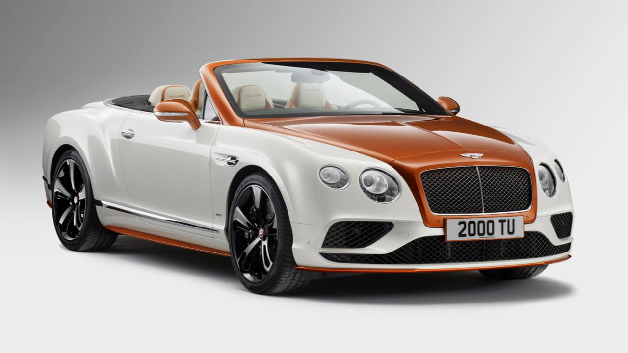 Bentley Continental GT with Sparkle Carbon