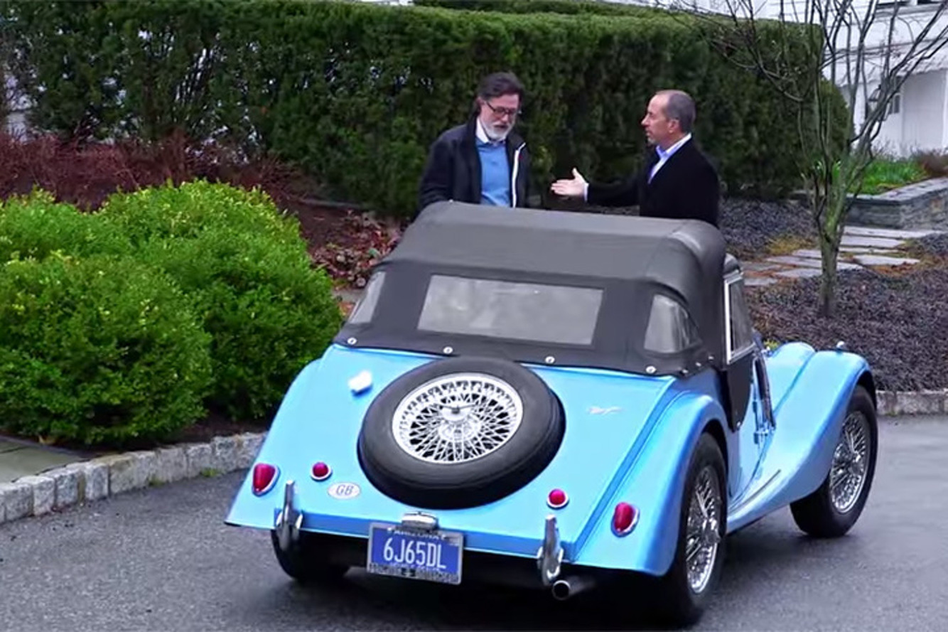Julia Louis-Dreyfus, Stephen Colbert Entertain Seinfeld in 'Comedians in Cars Getting Coffee' Season 6