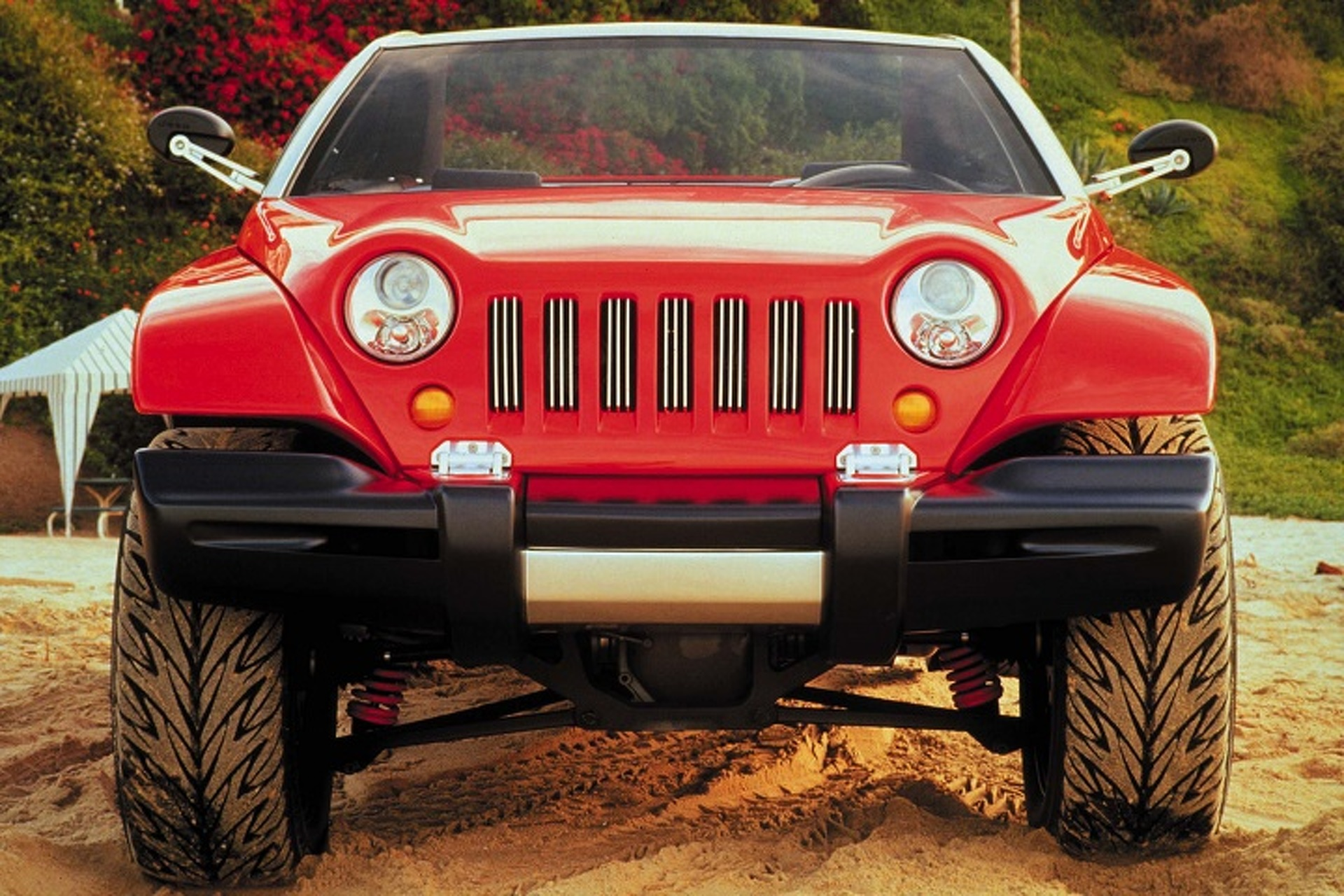 The Rugged and Unique 1998 Jeep Jeepster Concept