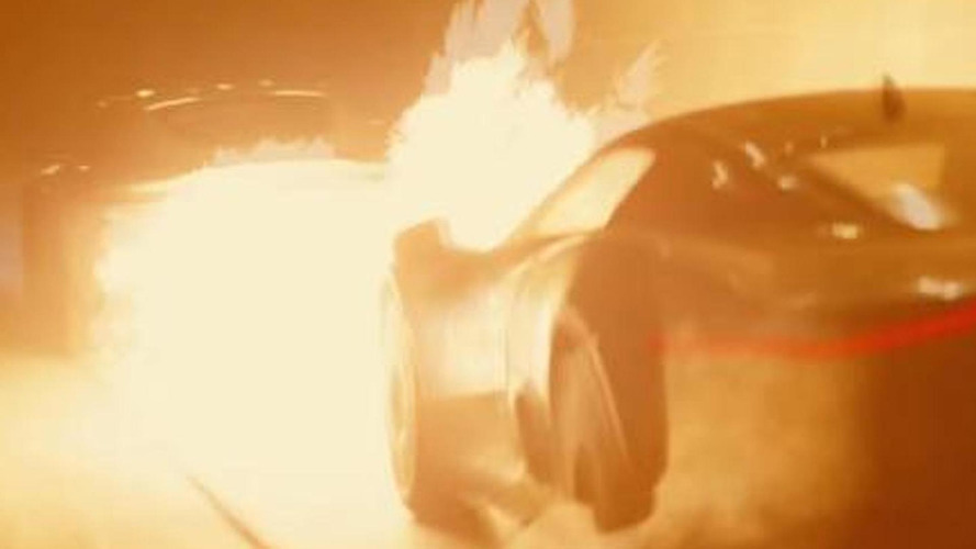 Jaguar C-X75 concept gets scorched in latest SPECTRE spot [video]