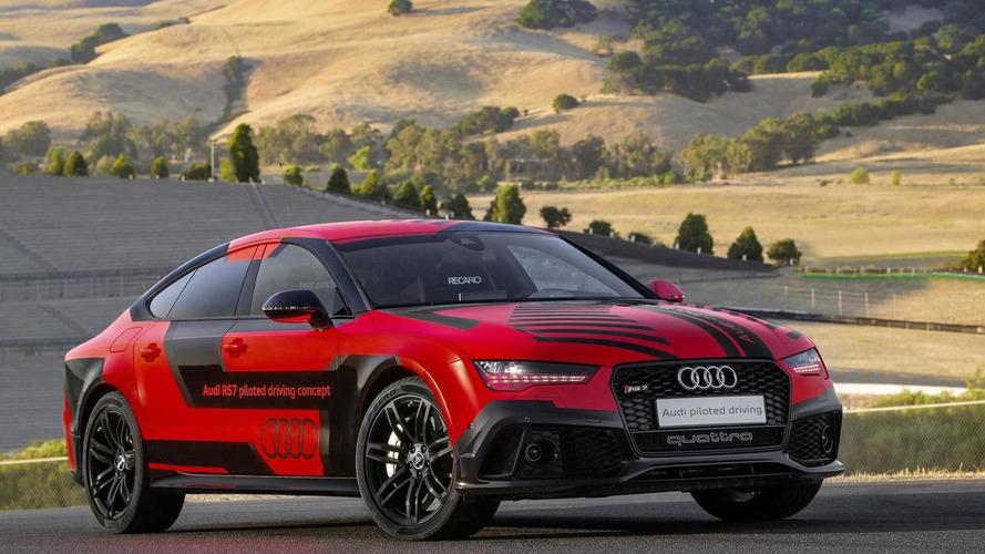 Güncel Audi RS7 Piloted Driving konsepti