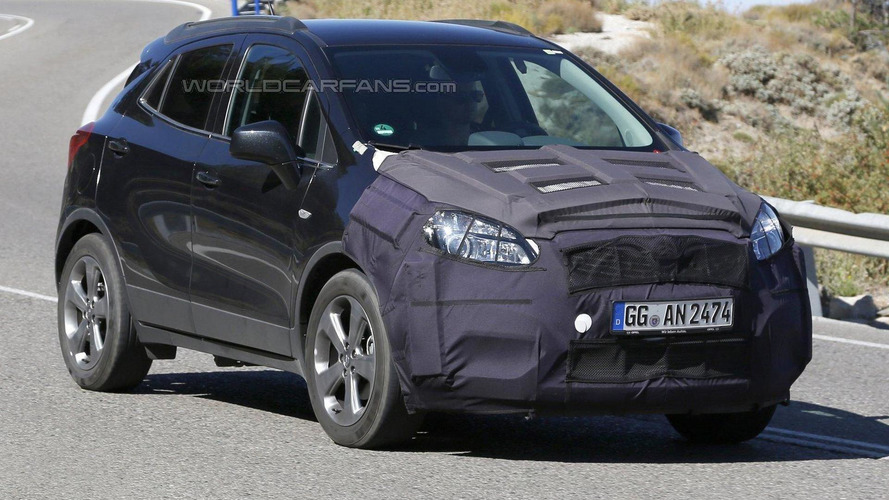 Opel Mokka facelift returns in new spy photos