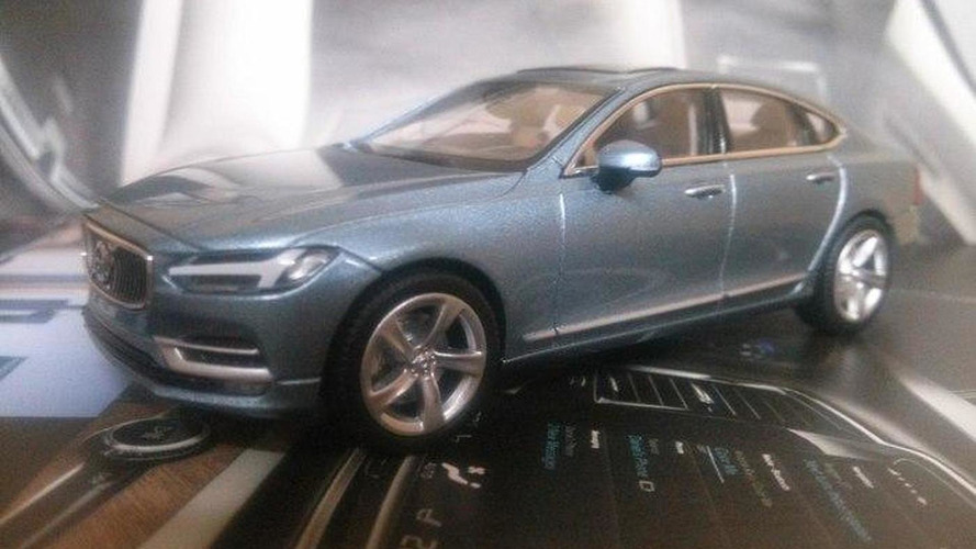 Volvo S90 leaks out once again as scale model