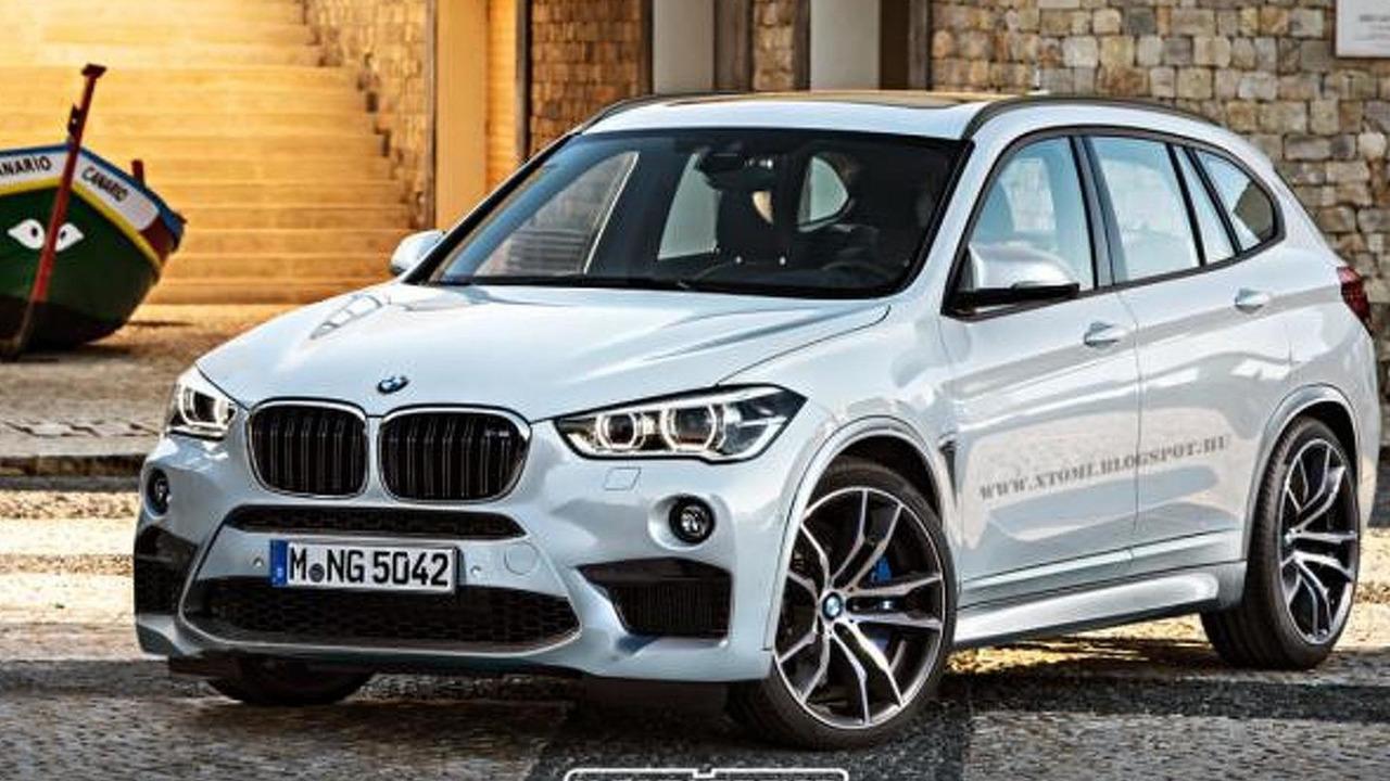 BMW X1 M rendering / X-Tomi Design