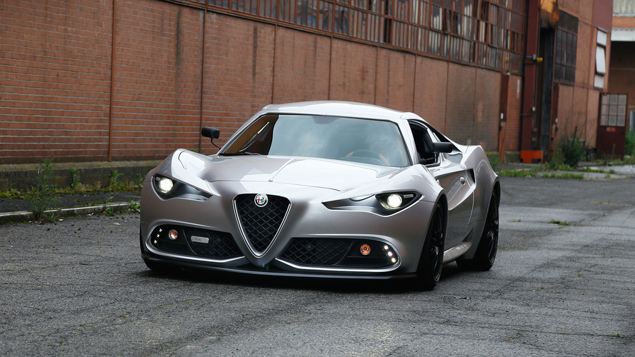 Italian Coachbuilder Imagines What Next Alfa 4C Would Look Like
