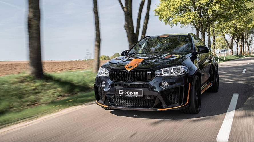 BMW X6 M Typhoon by G-Power