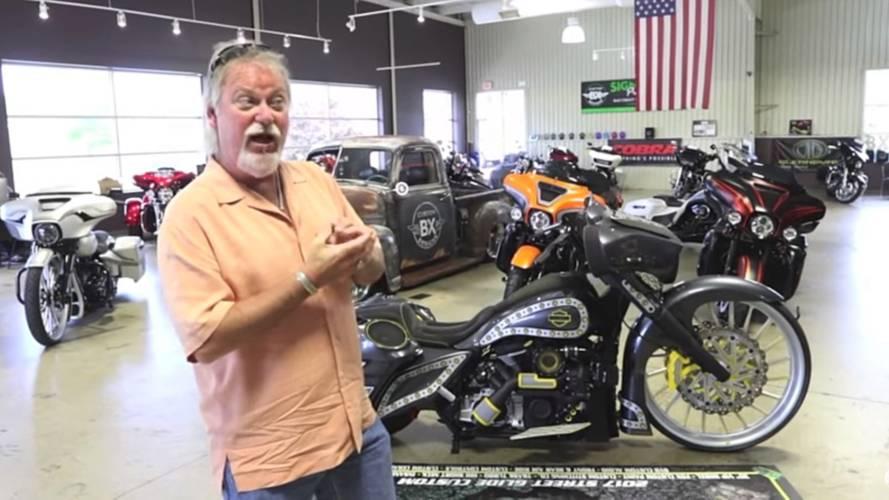 Lucky Winner Takes Home $100k Harley-Davidson