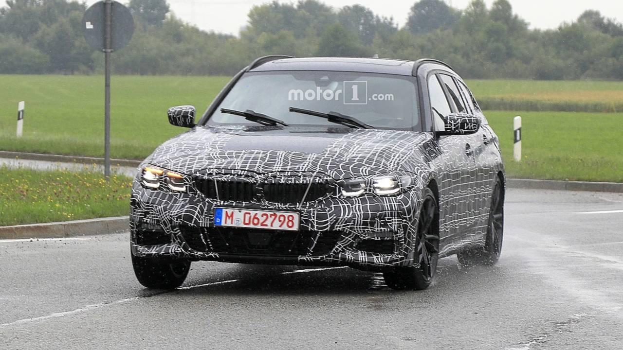 2020 BMW 3 Series Wagon spy photo - 3089509