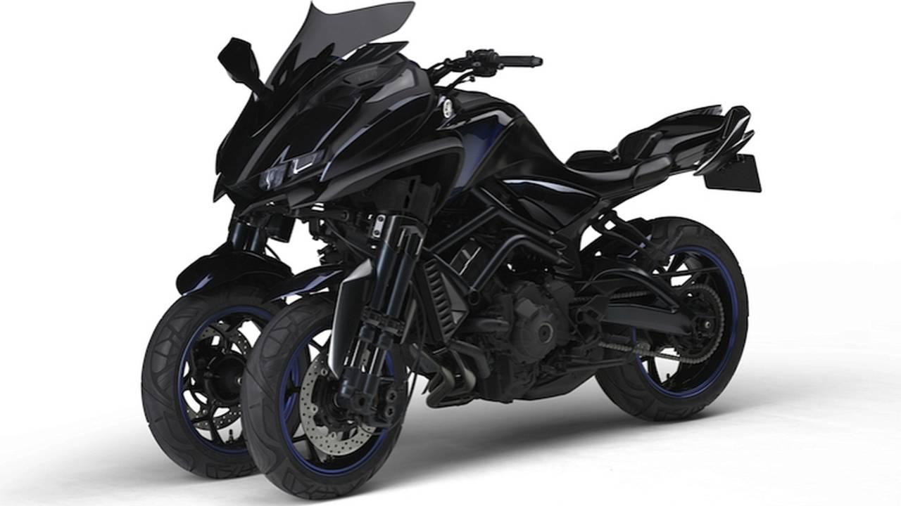 Three-Wheel Yamaha FZ-09 Headed for Production?
