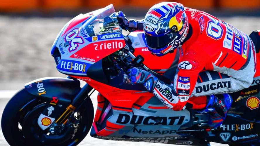 Dovizioso, inalcanzable para Lorenzo y Márquez en el GP de San Marino de MotoGP