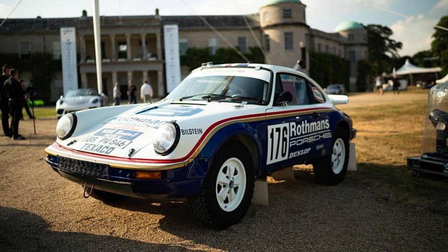 Le Porsche protagoniste a Goodwood