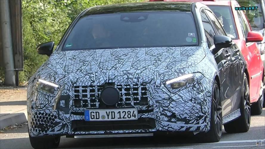 Mercedes-AMG A45, Almanya'da test edilirken görüntülendi