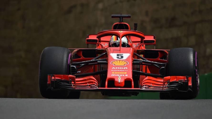 Vettel completa en Bakú su hat-trick de poles de 2018
