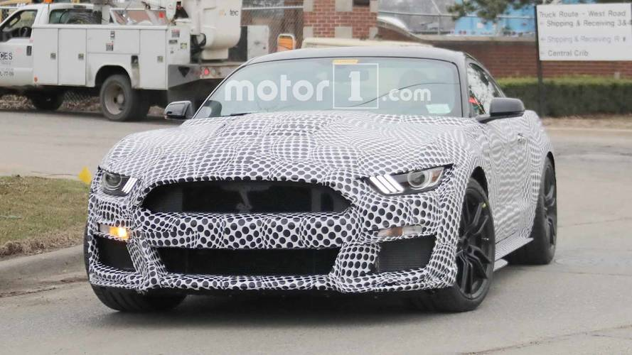 2019 Ford Mustang GT500 Spy Shots