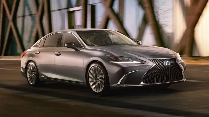 2019 Lexus ES Revealing Teaser Shows Strong LS Influences