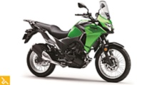 kawasaki releases the 2017 versys x 300 lightweight adv bike