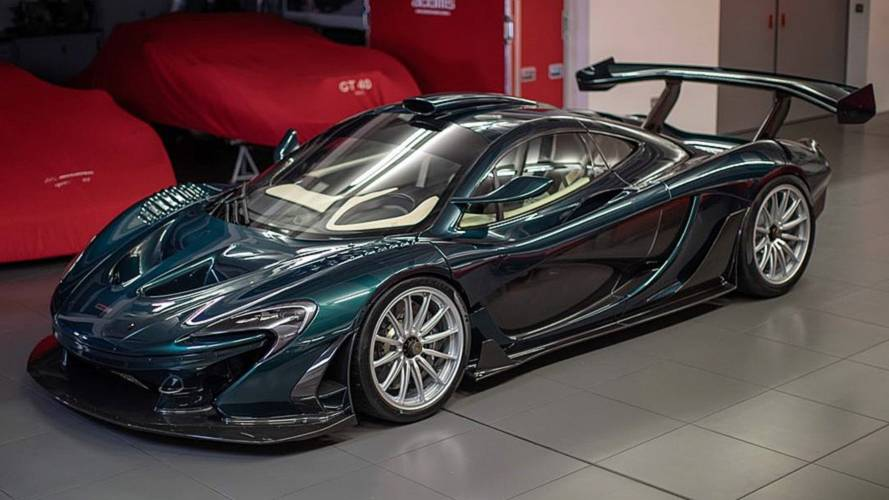Mclaren P1 GT by Lanzante revealed looking sensational at Goodwood