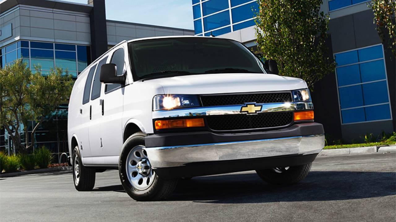 2014 Chevrolet Express 1500 Cargo Van Regular Wheelbase WT RWD