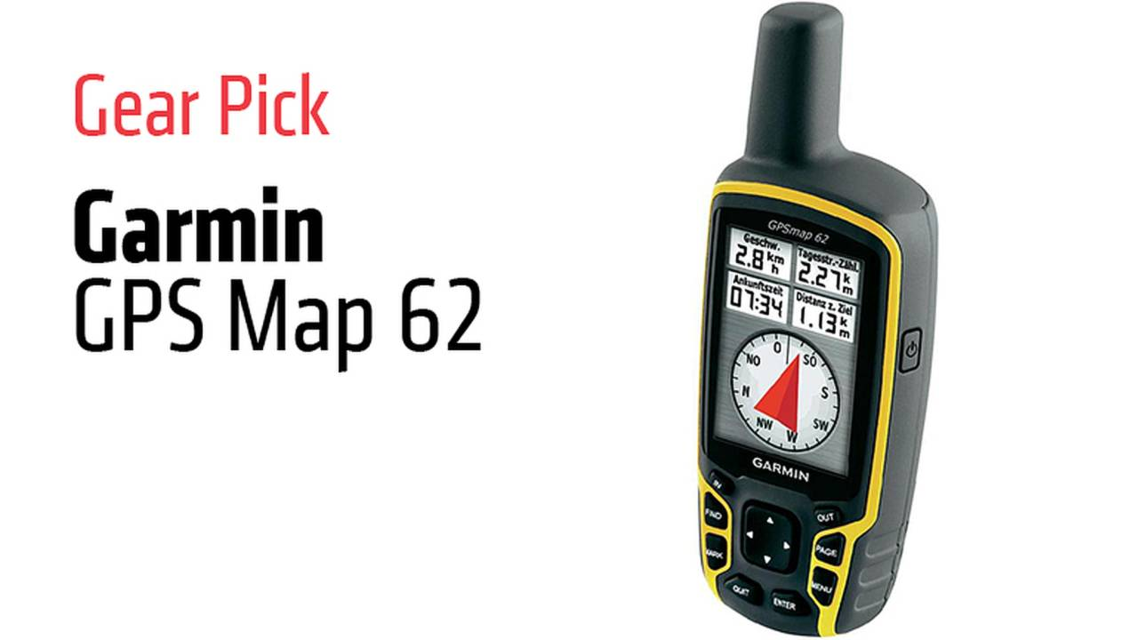 Gear Pick: Garmin GPS Map 62