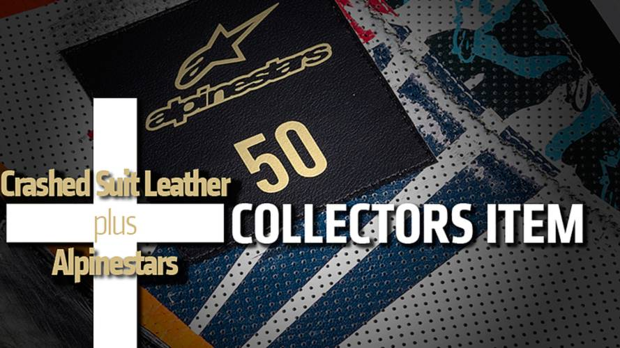 Crashed Suit Leather + Alpinestars = Collectors Item