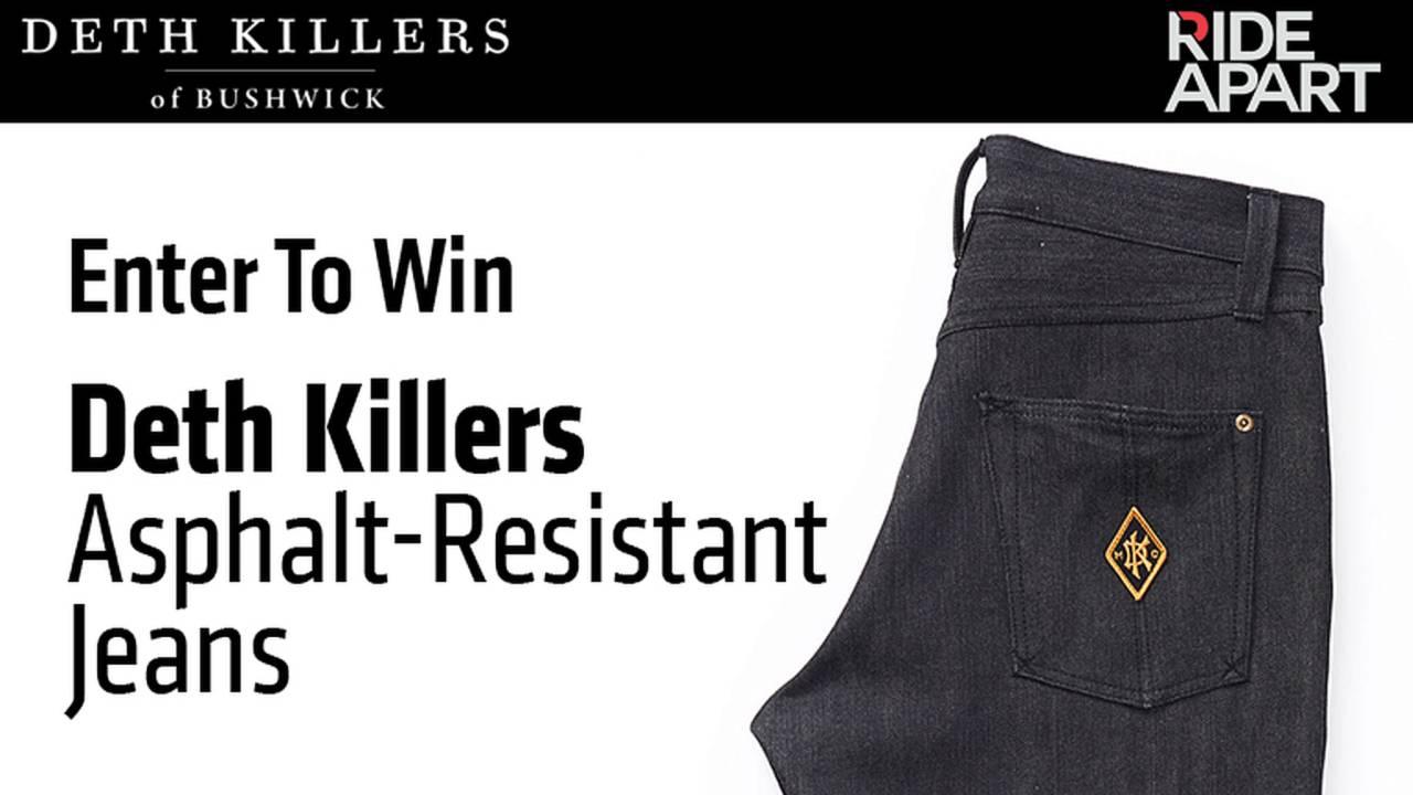 Enter To Win Deth Killers Asphalt-Resistant Jeans