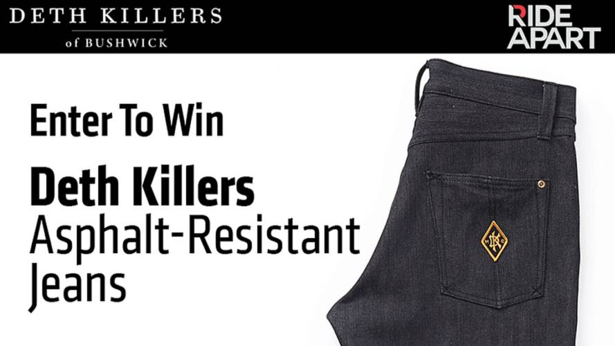 Enter To Win Deth Killers Asphalt-Resistant Jeans
